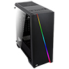 Aerocool Cylon Black RGB LED Mid-Tower Gaming Case Tempered Glass - Alternative image