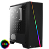 View more info on Aerocool Cylon Black RGB LED Mid-Tower Gaming Case Tempered Glass...