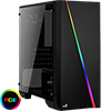 View more info on Aerocool Cylon Mini Black Tempered Glass RGB LED Micro ATX Case...