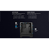 Aerocool Cylon Pro Black RGB LED Mid-Tower Gaming Case Tempered Glass - Alternative image