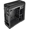 Aerocool DS 200 Black Gaming Case Noise Dampening 2 x USB3 7 Colour LCD Panel - Alternative image