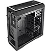 Aerocool DS 200 Black/White Gaming Case Noise Dampening 2 x USB3 7 Colour LCD - Alternative image