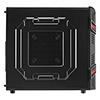 Aerocool GT Advance Mid Tower Black Interior USB3 12cm Red LED Fan Screwless - Alternative image