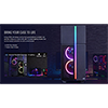Aerocool Playa Mid-Tower RGB LED Temp Glass - Alternative image