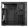 Aerocool QC-203 M-ATX Case USB3 Rubber Coated Fascia Black Interior No PSU - Alternative image