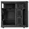 Aerocool QS182 Black Mini Tower Case Micro ATX With 1 x USB3 1 x USB2 HD Audio - Alternative image