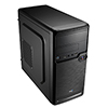 View more info on Aerocool QS182 Black Mini Tower Case Micro ATX With 1 x USB3 1 x USB2 HD Audio...