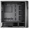Aerocool Quartz Pro Black Full Tower Glass Front & Side Panel 3 x 12cm RGB Fans   - Alternative image