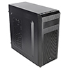 Aerocool SI5101 Mid Tower Case Black 1 x Rear Black Fan 1 x USB3 2 x USB2  - Alternative image