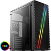 View more info on Aerocool Streak Mid - Tower Gaming Case With RGB LED Strip & Acrylic Side Panel...