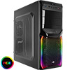 Aerocool V3X Black RGB Mid-Tower Gaming Case - Alternative image