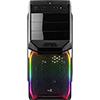 Aerocool V3X Black RGB Midi Gaming Case with Window & Two RGB LED Stripes ETA. Coming Soon - Alternative image