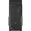 Aerocool VS-1 Black Mid-Tower Gaming Case with Large Front Mesh & Side Window - Alternative image
