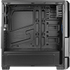 Aerocool VS-1 Black Midi Tower Gaming Case with Large Front Mesh & Side Window ETA. Coming Soon - Alternative image