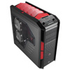 View more info on Aerocool X-Predator X3 Devil Red Gaming Case Black Interior 20CM Red LED Fan...