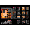 Aerocool X-Predator X3 Evil Black Gaming Case Black Interior 20CM Orange LED Fan - Alternative image