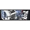 Aerocool X-Predator X3 White Gaming Case Black Interior 20CM White LED Fan - Alternative image