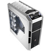 View more info on Aerocool X-Predator X3 White Gaming Case Black Interior 20CM White LED Fan...