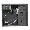 CiT Templar Micro ATX Black Interior Mesh Case 500W 120mm Black PSU - Alternative image