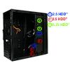 CiT Mini Falcon Black ATX Midi Tower With 1 x USB3 HD Audio 1 x 8cm Rear Fan - Alternative image