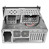 Codegen 4U Rackmount 500mm Deep V2 Butterfly Lock 2 x 80mm & 1 x 120mm Fans inc. - Alternative image