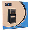 CiT 1017 Black Part-Mesh Midi Gaming Case LED Fan 500W PSU - Alternative image