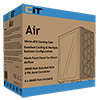 CiT Air Mesh Grill With 3 front and 1 rear ARGB Fan + Hub Tempered Glass - Alternative image