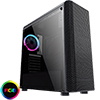 View more info on CiT Alizarin Black RGB Mid-Tower Gaming Case With Full Acrylic Window...