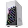 CiT Alpha White 3 x ARGB Fans 1 x LED Strip and Hub Tempered Glass - Alternative image