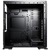 CiT Aqua Windowed Black Gaming Case - Alternative image