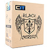 CiT Shade Micro ATX Black Interior Mesh Case 500W 120mm Black PSU - Alternative image