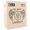 CiT Templar Micro Black Interior 500W 120mm Black PSU USB3 Port - Alternative image