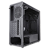 CiT Blitz RGB Mid-Tower Gaming Case With Full Acrylic Window  - Alternative image