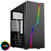 CiT Bolt RGB Tempered Glass Gaming Case - Alternative image
