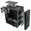 CiT C100 Mesh Midi Case With Front with Tempered Glass Side - Alternative image