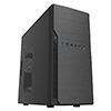 CiT Classic Black Micro ATX Case 500w PSU  - Alternative image