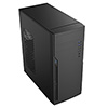 CiT Classic Black Midi ATX Case 500w PSU  - Alternative image