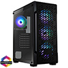 View more info on CiT Crossfire Gaming Case 4 x ARGB Fans Glass Side MB SYNC 3pin...