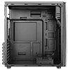 CiT Discovery Gaming Case Single Led Front and 1 x 33 LED Rear Perspex Window  - Alternative image