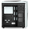 CiT Dragon³ Midi White Case With 12cm Blue LED Fans & Side Window  - Alternative image