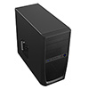 CiT Elite Micro ATX Case Black Interior 500W 12cm Black PSU - Alternative image