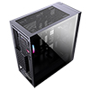 CiT Engine Black RGB Mid-Tower Gaming Case With Full Acrylic Window - Alternative image