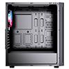 CiT Engine Black Gaming Case With Full Acrylic Window - Alternative image