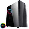 View more info on CiT Engine Black RGB Mid-Tower Gaming Case With Full Acrylic Window...