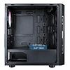 CiT Flash Gaming Matx Case 4x ARGB fans TG Front and Side Panels EPE - Alternative image