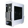 CiT G Force White PC Gaming Case with 2 x RGB Front 1 x Rear Fans & Remote - Alternative image