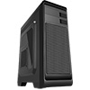 CiT Hero Midi Case with 1 x 12cm Front Red LED Fan & 1 x USB3 with Side Window - Alternative image