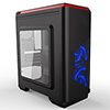 View more info on CiT Lightspeed Black Case With Inbuilt LED Light System 2x LED Blue Fans USB3 x1...