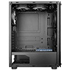 CiT Mirage F6 6x RGB Rainbow Fans TG Front and Side Panel - Alternative image