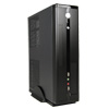 CiT MTX-005B Black Mini ITX Desktop Case 300W PSU - Alternative image